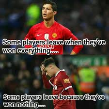 Soccer Memes Facebook - soccer memes coutinho and cristiano left for very facebook
