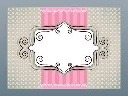 girly card template jpg tags pinterest bakery logo bakeries