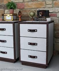 Pottery Barn Inspired Furniture Pb Inspired Trunk Bedside Table Makeover In The Garage