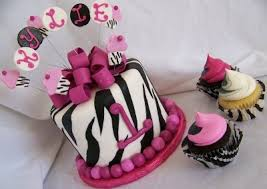 25 best zebra print cake and cupcakes images on pinterest zebra