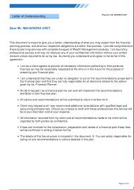 cover letter for financial planner