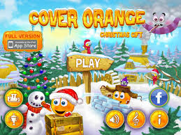 entertainment offers the cover orange christmas gift as a second