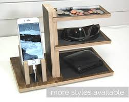 phone charger organizer charging station etsy