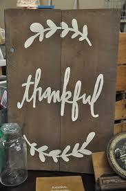 thankful barn wood sign the vintage estate at carver junk