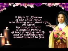 Prayer To St Therese The Little Flower - morning prayer st therese of lisieux youtube