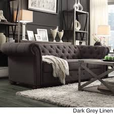Add Graceful Seating To You Home With This Chesterfield Sofa By - Jar designs alphonse tufted sofa