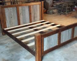 king size bed frame etsy