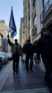 Golden Dawn Flag Photos Ny Greeks Embrace Golden Dawn At 1821 Memorial Parade In