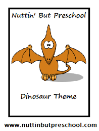 dinosaur theme nuttin but preschool
