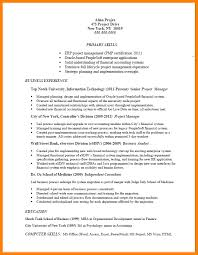 project management experience resume 6 project management experience introduction letter