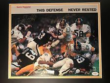 The Steel Curtain Defense Steel Curtain Sports Mem Cards U0026 Fan Shop Ebay