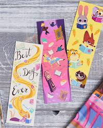 8 adorable disney bookmarks you can print right now disney