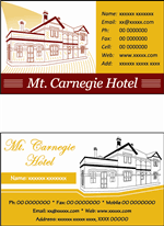 Hotel Business Card 19 Professional Business Card Designs For A Business In Australia
