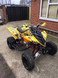 yamaha raptor 700r 50th anniversary edition with dual dmc exhaust