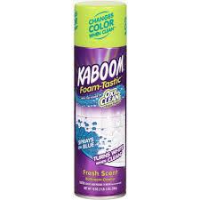 lysol foaming bathroom cleaner msds kaboom 19 oz foam tastic fresh bathroom cleaner with oxiclean