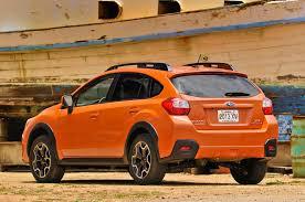subaru orange refreshing or revolting 2018 subaru crosstrek motor trend