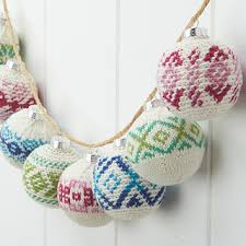 ravelry frosted crochet ornaments pattern by blackledge