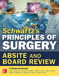 schwartz u0027s principles of surgery absite and board review 10 e