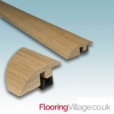 Laminate Flooring Threshold Trim Real Solid Oak Ramp For Wood Flooring Trim Door Threshold Bar