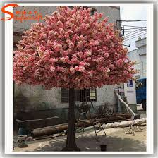 large artificial trees artificial cherry blossom tree plastic