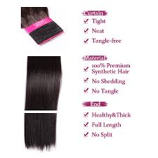 Long Synthetic Hair Extensions by Aliexpress Com Buy 26inch Synthetic Weft Hair Extensions Yaki