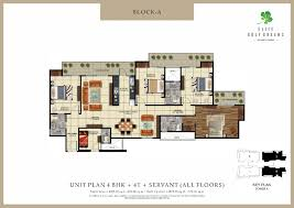 Mandir Floor Plan by Elite Golf Green Noida Elite Golf Green Noida Floor Plan Site