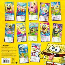 the official sponge bob 2016 square calendar 9781780548623 the official sponge bob 2016 square calendar 9781780548623 amazon com books