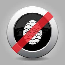 grey button with no easter ornamental egg royalty free cliparts