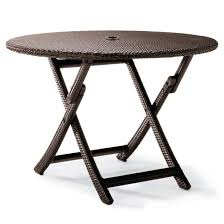 Frontgate Outdoor Shower - cafe round folding table frontgate