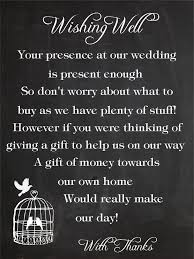 wedding wishes gift registry 50 x wishing well cards birdcage chalkboard wedding ideas
