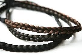 elastic hairband 1 0cm fashion synthetic wig hair band braided headbands elastic