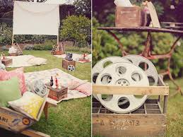 How To Make A Backyard Movie Screen by Juneberry Lane Old Hollywood Backyard Movie Night