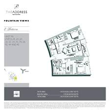 the address residence fountain views emaar properties