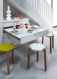 table escamotable cuisine ilot central table escamotable maison design bahbe com