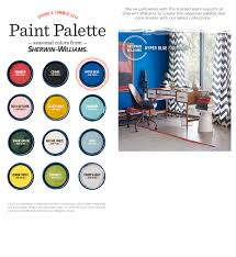 seasonal paint colors from sherwin williams u0026 west elm design