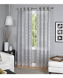Single Panel Window Curtain Designs Bargains On Elrene Home Fashions 026865820102 Grommet Top Sheer