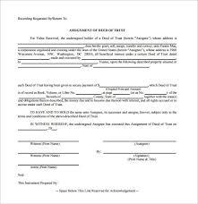 sample deed of trust form u2013 9 documents in pdf word
