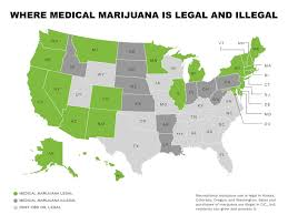 Fl State Map by Map Medical Marijuana Laws State By State