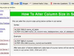 Alter Table Change Data Type Sql Server How To Alter Column Size In Sql Server
