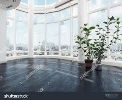 empty vacant modern luxury apartment penthouse stock illustration