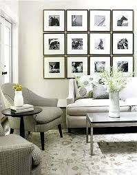 ideas to decorate room living room picture frame ideas frame decors for living room 9