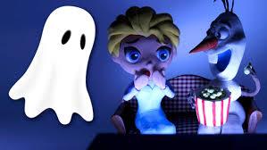 elsa frozen ghost prank play doh stop motion funny movie spiderman