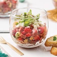 aux fraises cuisine tartare de bœuf aux fraises recettes cuisine et nutrition