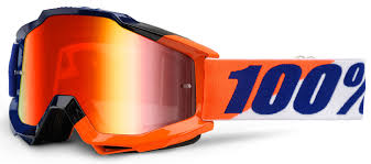 100 percent motocross goggles 100 accuri extra goggles black blue yellow home brands 1