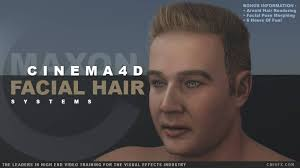 4d hair cinema 4d facial hair grooming cmivfx