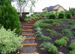 Sloped Backyard Landscaping Ideas Landscaping Ideas Backyard Steep Slope Landscaping Ideas For