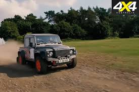 land rover bowler exr s land rover defender with supercharged jaguar f type v6 4x4 australia