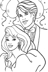 colouring pages print barbie barbie coloring pages print