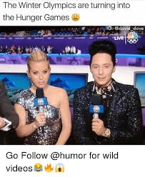 Hunger Games Memes Funny - the winter olympics are turning into the hunger games ig dave live