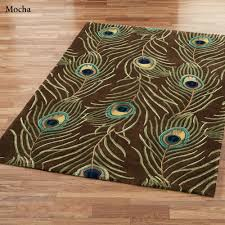 peacock decor for home peacock feathers area rugs